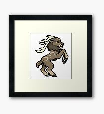 Druid Cuties - Tauren Stag Framed Print