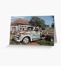 Rt. 66 Towing Greeting Card