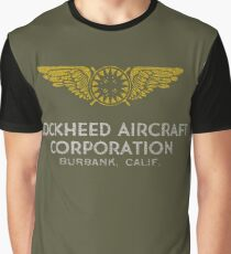 Lockheed Aircraft Burbank Ca, USA Graphic T-Shirt