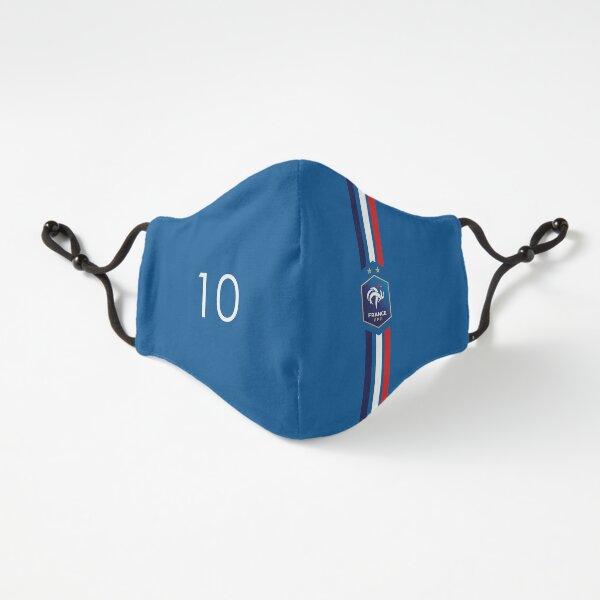 Mbappé 10 Equipe de France Passgenau (3-lagig)