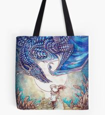 The Dragon & The Rabbit Tote Bag