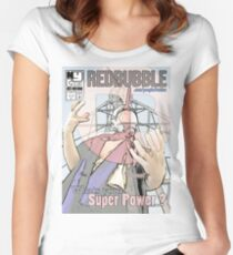 New York Comic Con Poster Contest Women's Fitted Scoop T-Shirt
