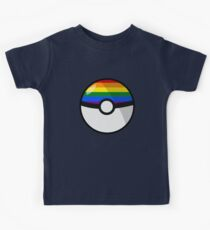 LGBT Pokeball Kids Clothes