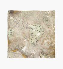 Texture de marbre papier or Foulard