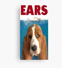 Basset EARS! Canvas Print