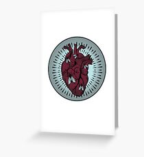 Used Heart Greeting Card