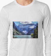 Lake Louise Banff Long Sleeve T-Shirt