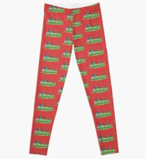Teenage Mutant Ninja Slugs Leggings