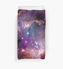 Colorful Galaxy Pattern Duvet Cover