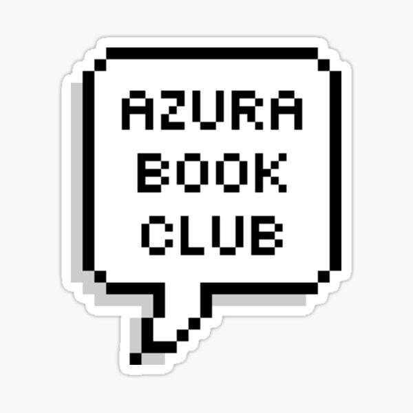 "OWL HOUSE Lumity ""Azura Book Club""  Sticker"