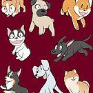 Dog Love!  by Mel Albino