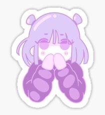 Gasp Sticker