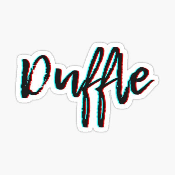 duffle funny Sticker