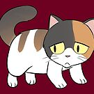 Exotic Short Hair Cat Love! by Mel Albino