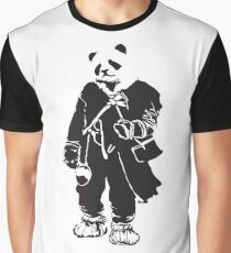 Panda Pong Graphic T-Shirt