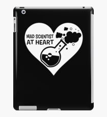 Mad Scientist at Heart iPad Case/Skin