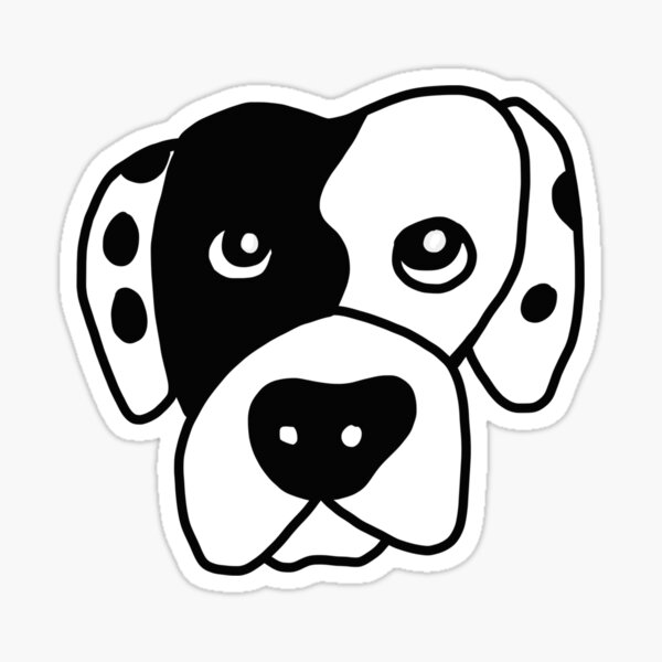 Benny the American Bulldog Sticker