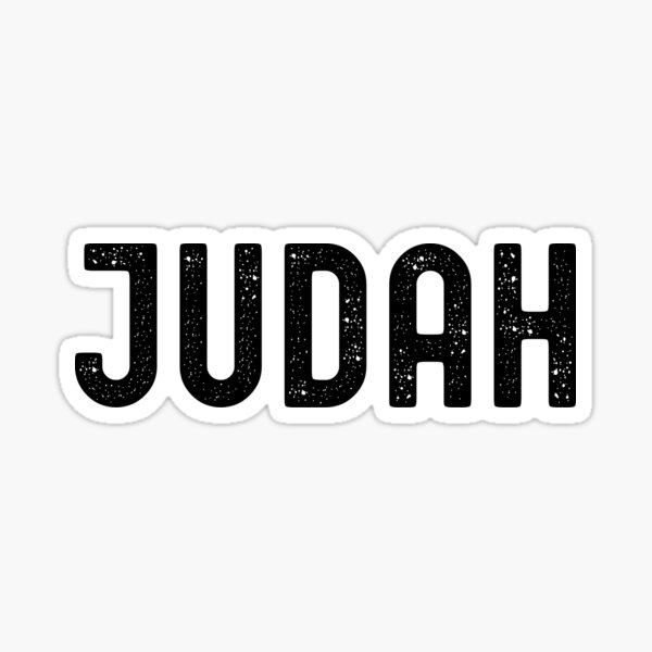 Hebrew Israelite Clothing, Tribe Of Judah Sticker