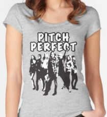 Pitch Perfect Cast Edit Women's Fitted Scoop T-Shirt
