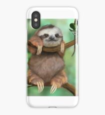 Baby Sloth iPhone Case