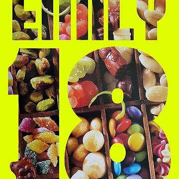 EMILY 18 Cake topping by Kemzi