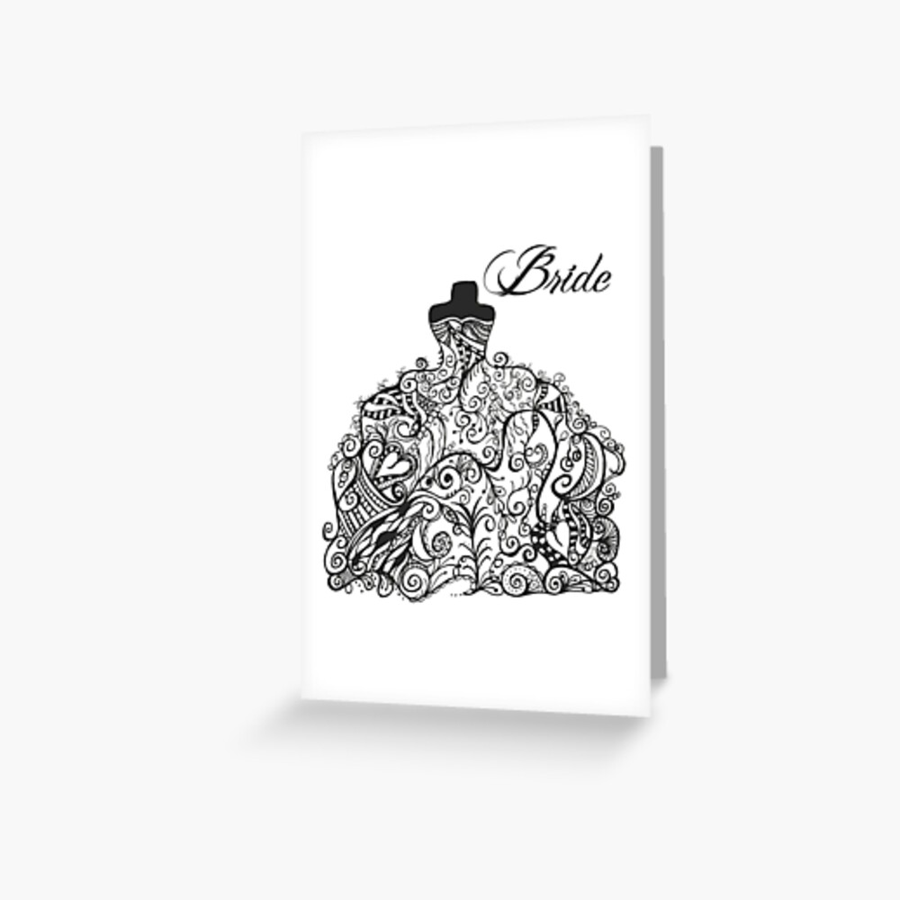 For the Bride! Greeting Card