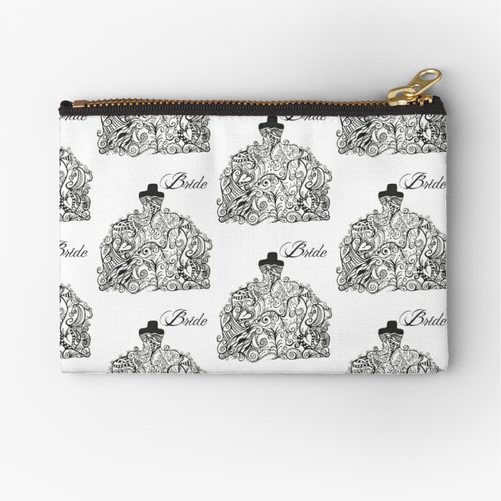 For the Bride! Zipper Pouch