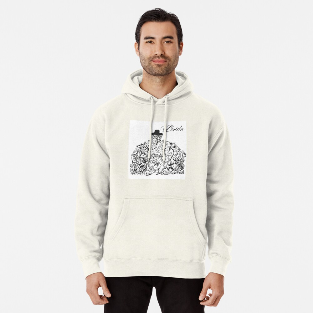 For the Bride! Pullover Hoodie