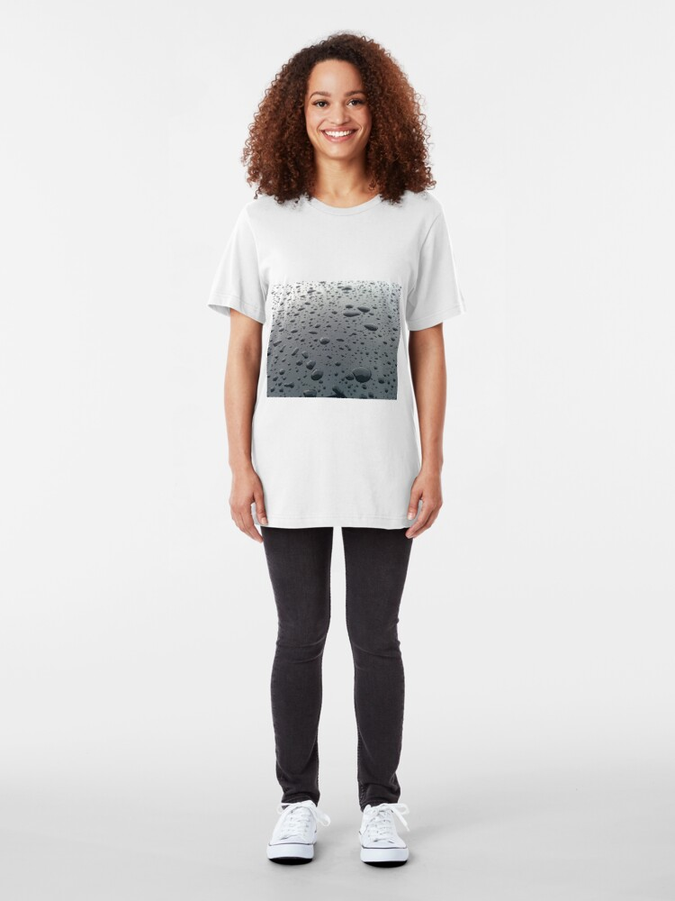 Alternate view of Drips and Drops  Slim Fit T-Shirt