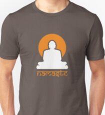 Buddha Rising Sun Namaste T-Shirt
