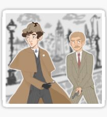 the adventures of sherlock holmes Sticker