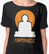 Buddha Rising Sun Namaste Women's Chiffon Top