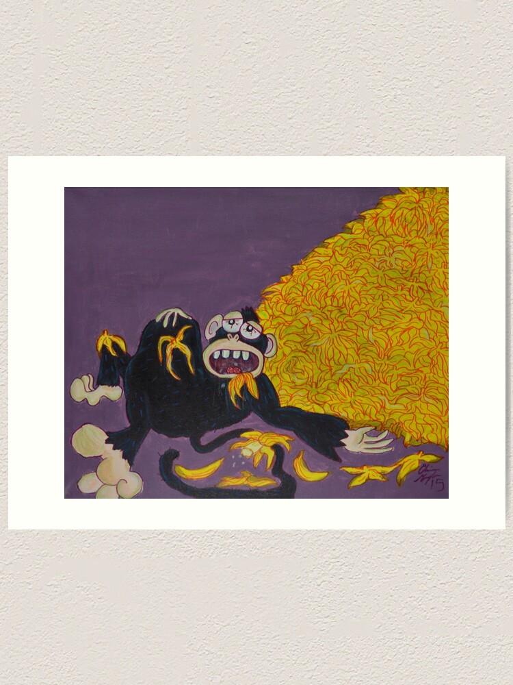 Alternate view of Gluttony Art Print