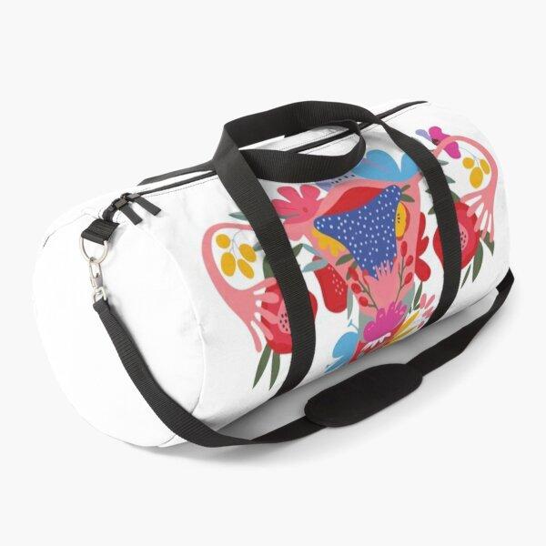 Middle Finger Uterus Pro Duffle Bag