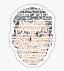 Archer Quotes Sticker