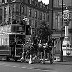 Isle of Man Double Decker Horse Tram. by youmeus