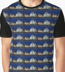 Blue Hour - Santa Croce Church in Florence, Italy Graphic T-Shirt