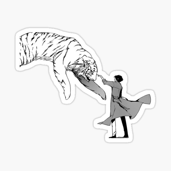 Bungo Stray Dogs Anime Aesthetic Dazai Osamu Sticker