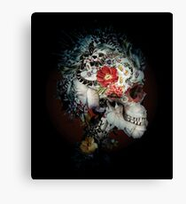 Skull I Black Series Canvas Print