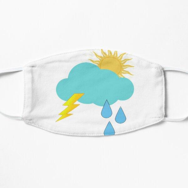 Klimaaufkleber Flache Maske