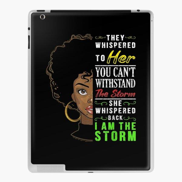 Melanin Women African American Pride Black History Month  iPad Skin