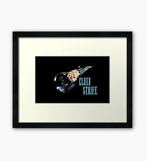 <FINAL FANTASY> Cloud Strife Framed Print
