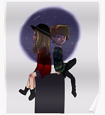 AHS Violet and Tate Poster