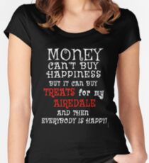 AIREDALE Funny Dog Humor Women's Fitted Scoop T-Shirt