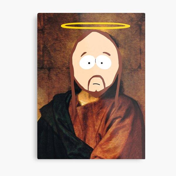 South Park Jesus Metal Print