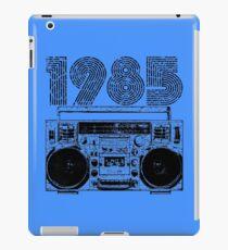 1985 Boombox iPad Case/Skin