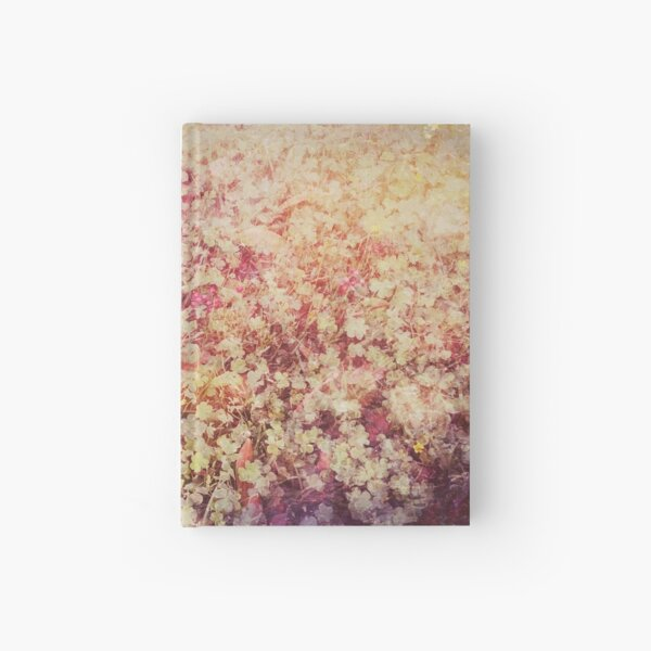 A Bed of Enchanted Clovers Hardcover Journal