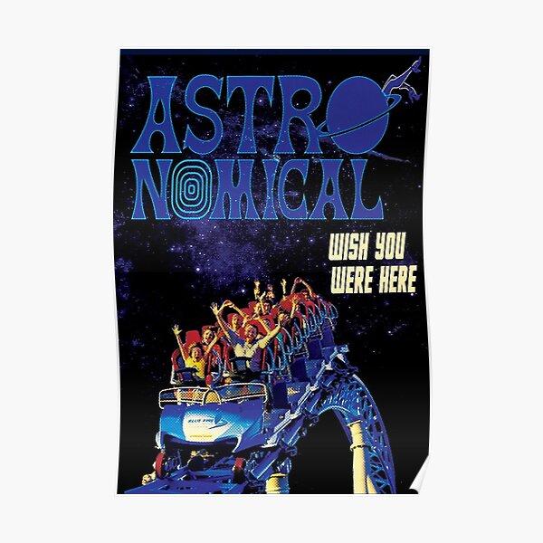 Travis Astroworld Concert Poster Poster
