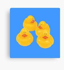 quack quack quack ! Canvas Print