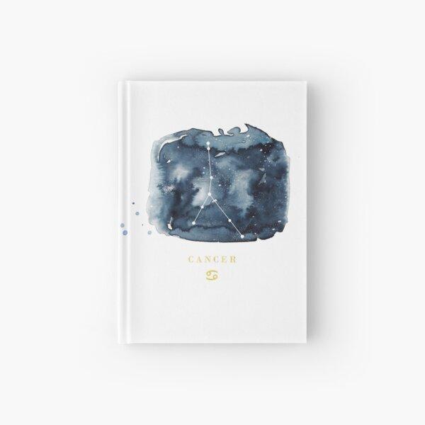 Cancer Zodiac Constellation Hardcover Journal